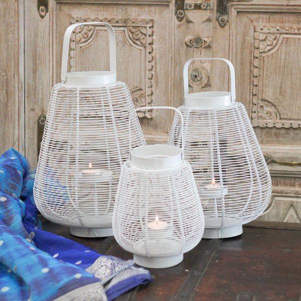 White Lantern -3 Sizes