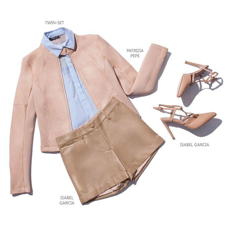 Ранней осенью еще не стоит убирать шорты глубоко в шкаф, ведь они с легкостью составят конкуренцию юбкам! Для достижения романтичного женственного образа комбинируем их с рубашками и легкими джемперами пастельных тонов.  #topbrandsru #look #образ #шорты #patrizia