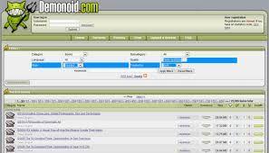 demonoid | Free BitTorrent tracker website