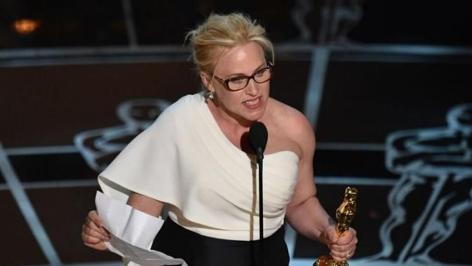 Patricia Arquette calls on Congress to ratify the Equal Rights Amendment