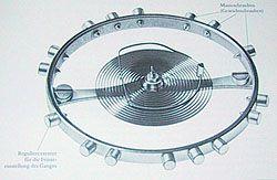 PocketWatch - Technik - Geschichte, die Erfindung der Spiralfeder