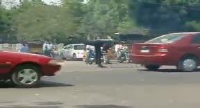 اضحك مع شرطة المرور في نيجيريا|arabeevideo.com