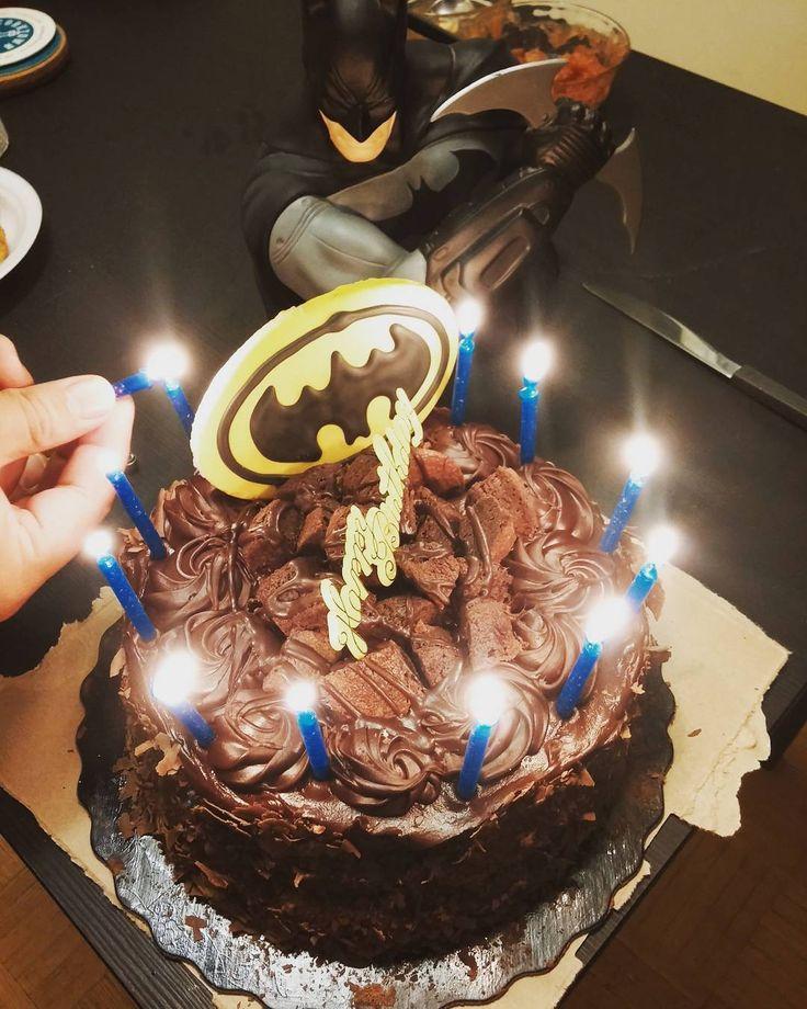 Friends #Batman #birthday #cake.
