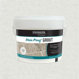 Stainmaster Classic 5.5-Lb Ice White Sanded/Unsanded Epoxy Grout C.270-2.5Kg