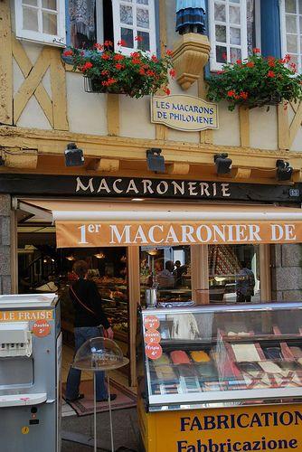Les Macarons de Philomene. Quimper, France