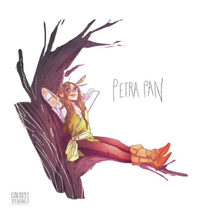 Petra Pan I love these drawings. I've been looking for them.
