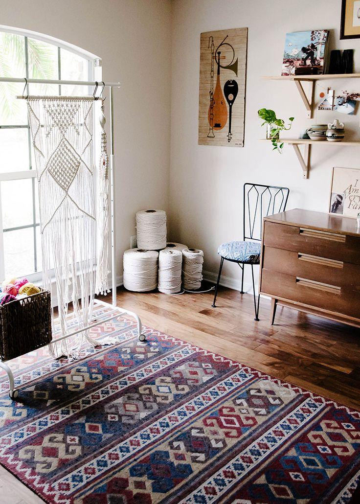 Bohemian Charm Meets Mid-Century Modern in Sunny Florida | Design*Sponge