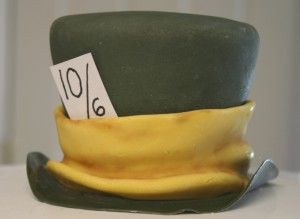 Mad Hatter Cake Tutorial