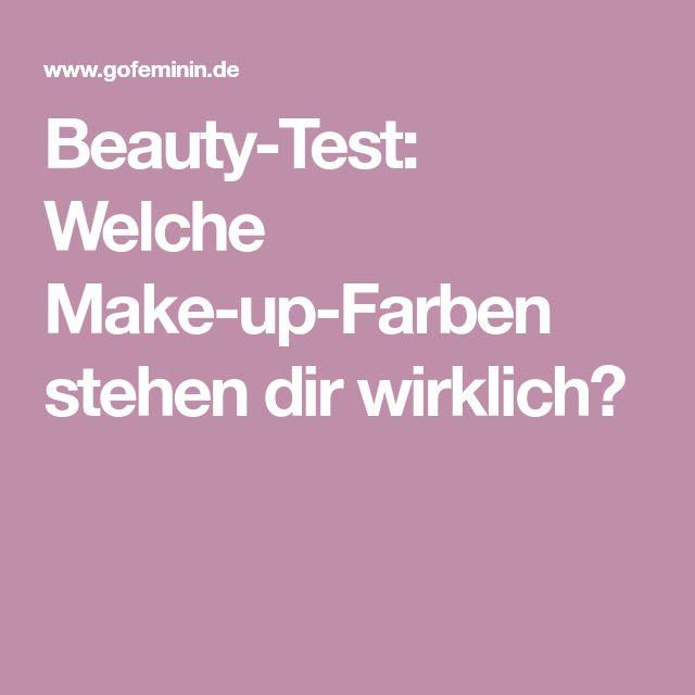Beauty-Test: Welche Make-up-Farben stehen dir wirklich?
