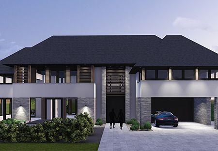 Villa T3 - interior   architecture   totaal concepten   interieur   tuinplan - Marco van Veldhuizen