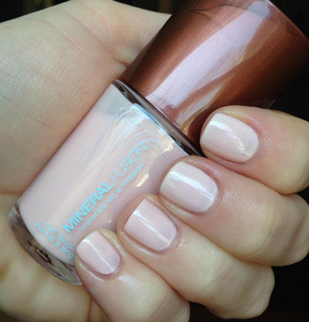 Get Cruelty-Free, Natural Nails Thanks to Mineral Fusion. Blushing Crystal by Mineral Fusion