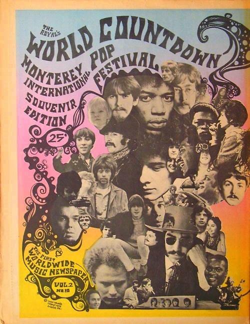 Monterey Pop Festival souvenir edition