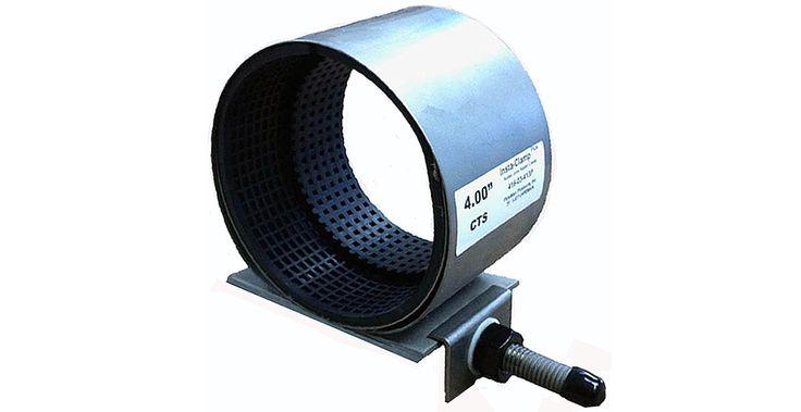 Instaclamp solder joint leak repair clamp for copper
