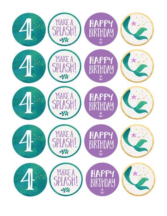 Invitación de sirena sirena cumpleaños Teal por SugarPinkDesigns