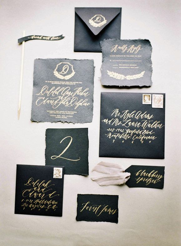 Elegant Old World Wedding Inspiration