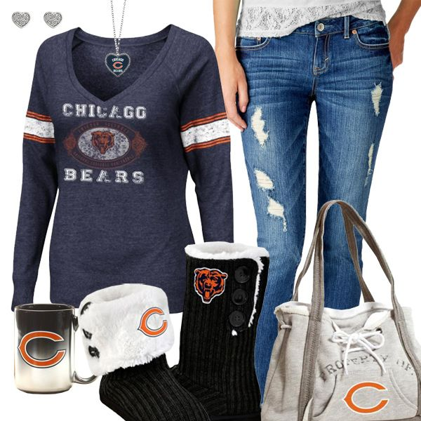 Chicago Bears Fashion - Cozy Bears Sunday