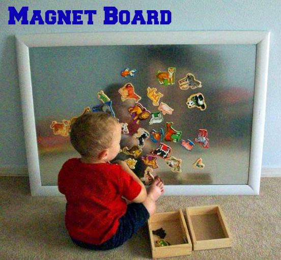 41 best Magnetic play images on Pinterest Preschool ideas