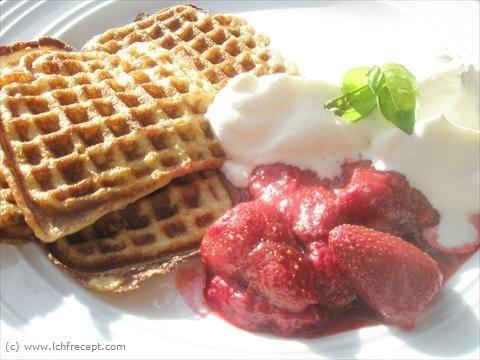 LCHF-Recept: Frukost våfflor