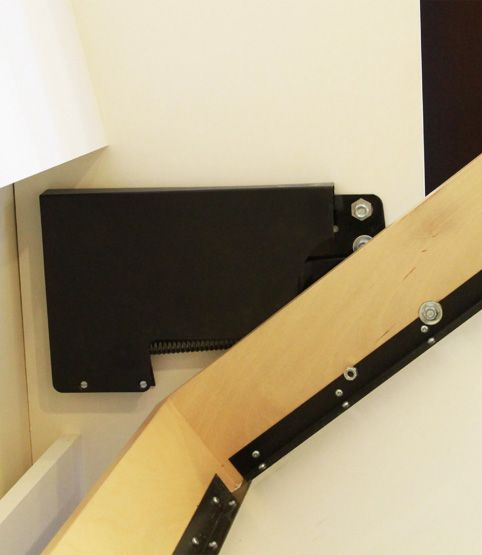 diy murphy bed | DIY Murphy Bed Mechanism with plastic protective cover