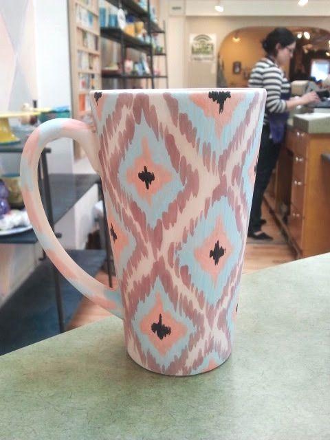 25 best ideas about hand painted mugs on pinterest - Ceramic mug painting ideas ...