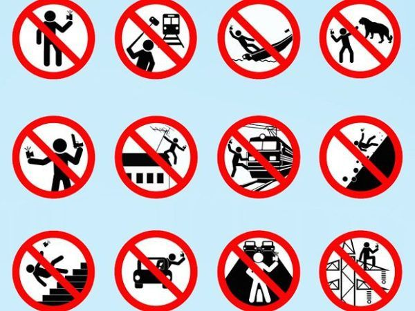 The Indian Tourism Ministry has asked states to identify and barricade 'selfie danger' areas. The goal of the sign is to try and stop or reduce selfie-related deaths in the country.