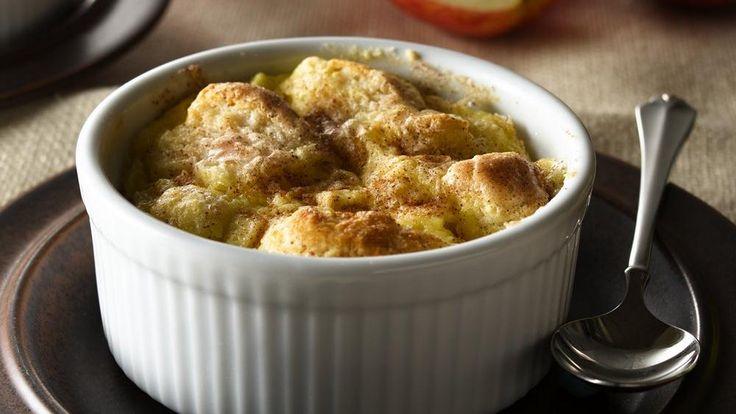 Apple Biscuit Custards recipe