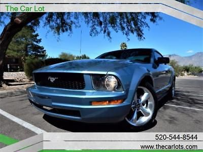 eBay: 2007 Ford Mustang V6 Deluxe 2007 Ford Mustang, Vista Blue Clearcoat Metallic with 132568 Miles available now #fordmustang #ford