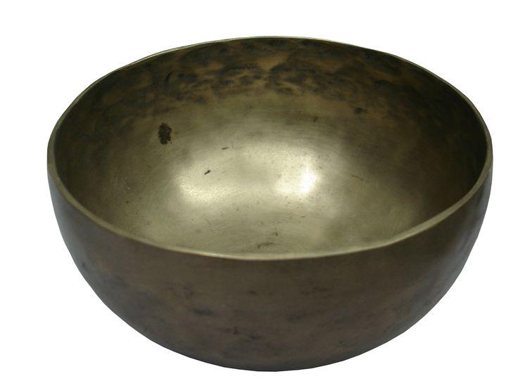 Tibetan hand beaten singing bowl