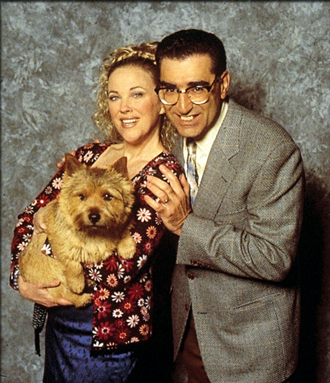 Catherine O'Hara and Eugene Levy in Best in Show