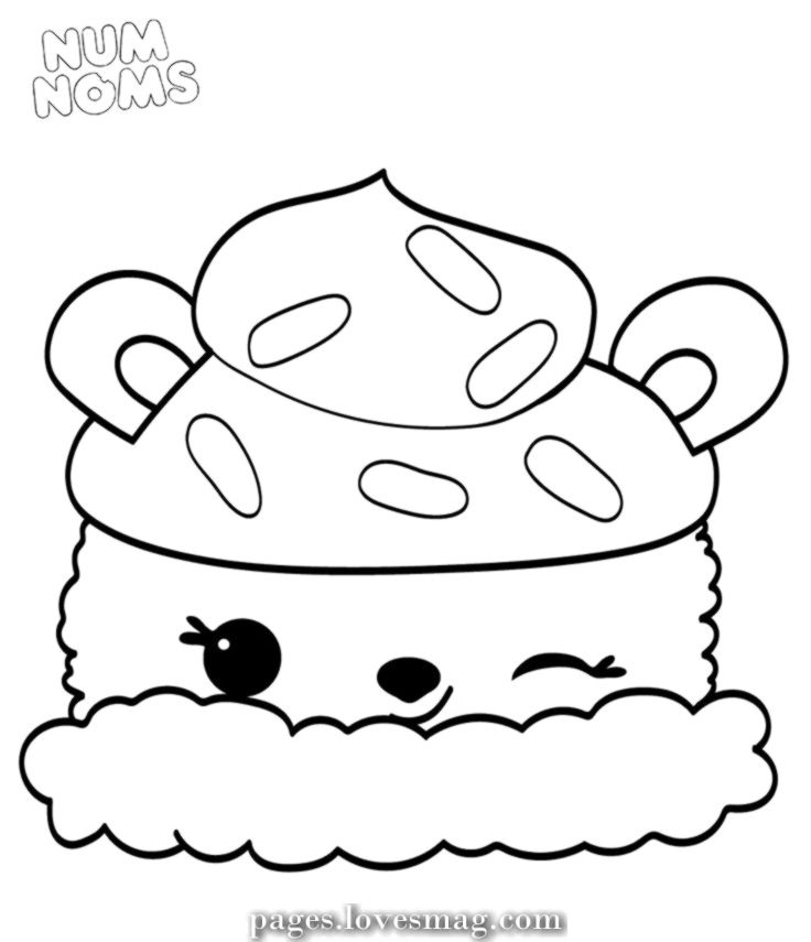 Spectacular Coloring Pages Of Num Noms Season 2 Parker Peach In 2020 Cute Coloring Pages Cartoon Coloring Pages Coloring Pages