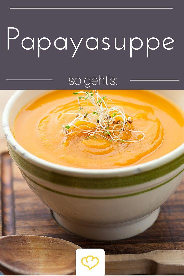 Ja, richtig gelesen! Die Papaya ist viel vielseitiger als viele denken. In dieser Suppe entfaltet sie zusammen mit Ingwer und Limette ihr fruchtig-frisches Aroma - na wer traut sich?