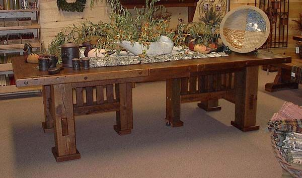1000 ideas about Rustic Wood Tables on Pinterest Barn  : 53ce7471f893884cf69412d79813ed95 from www.pinterest.com size 600 x 354 jpeg 43kB