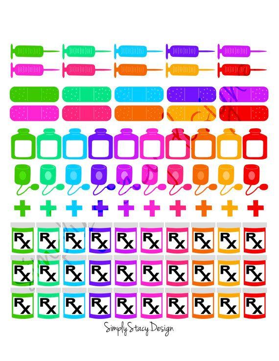 Printable planner stickers erin condren by simplystacydesign
