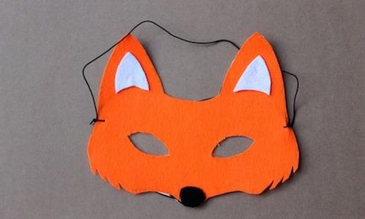 5. Make a fox mask  And go as Roald Dahl's Fantastic Mr Fox. Just add a natty tweed suit and cravat if you're feeling elaborate.