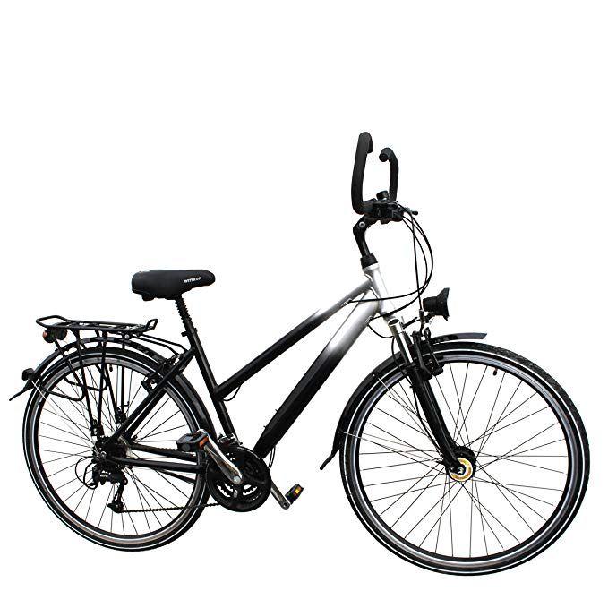 28 Zoll Aluminium 27 Gang Damen Rh 46 Cm Fahrrad Stvzo Ausstattung Nabendynamo Federgabel Amazon De Sport Freizeit Klapprad Fahrrad Federgabel