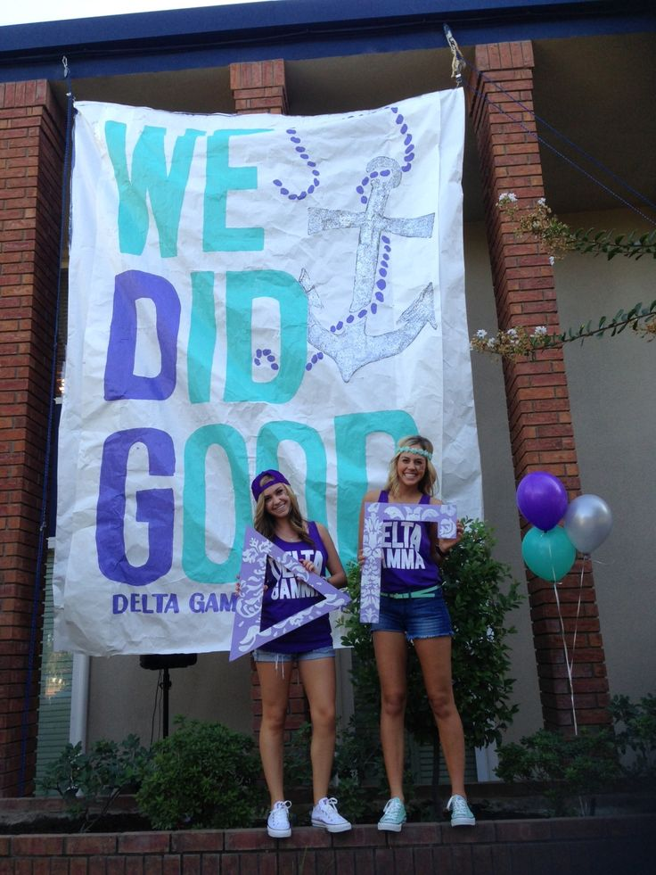 Fresno State- Gamma Lambda Bid Day Fall 13. We Did Good!