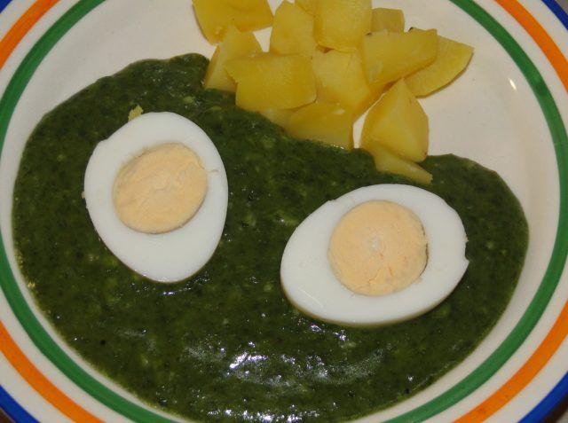 K pôstnemu obedu špenát