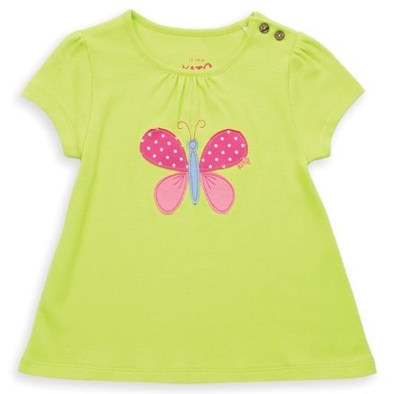 Kite Lime Butterfly Tunic