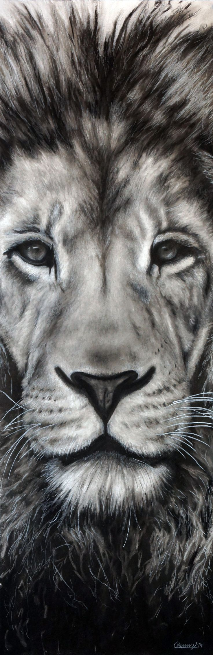 25 best ideas about black and white drawing on pinterest for Black and white lion tattoo