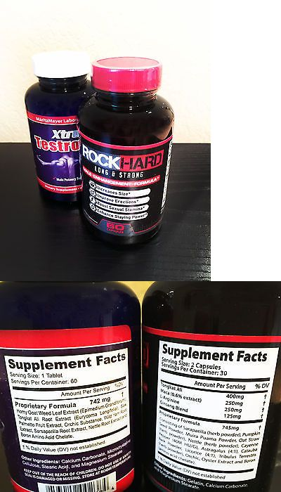 Sexual Remedies and Supplements: Bree Olson Endorsed Rock Hard Male Enhancement Girth Length Long And Strong New -> BUY IT NOW ONLY: $81.11 on eBay!