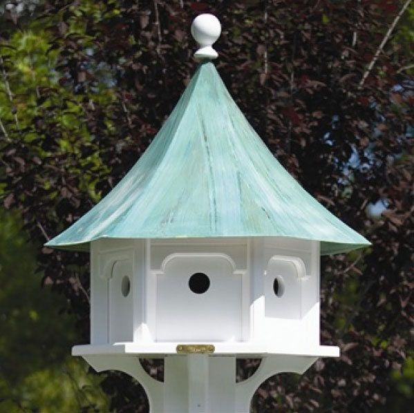 Victorian Bird Houses for $541.99 with Free Shipping! Beautifully crafted Victorian Carousel decorative birdhouse with multiple compartments.