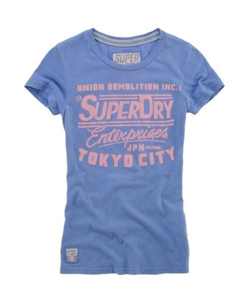 superdry tee (interesting typography!)