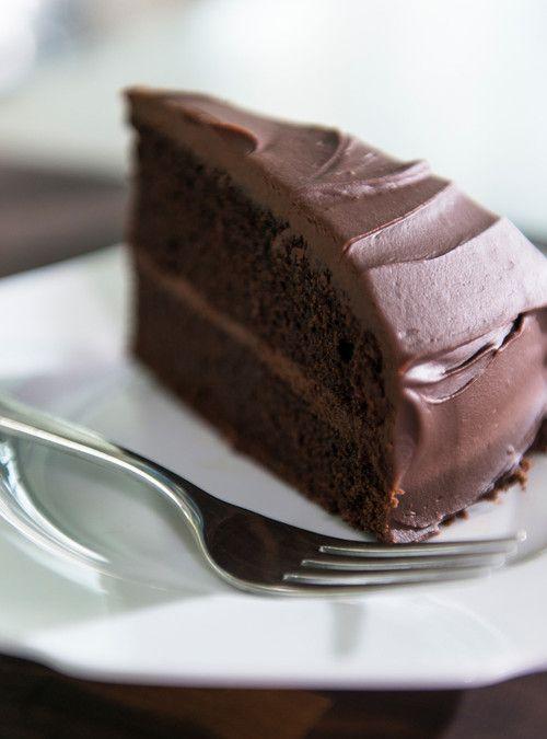 Gâteau au chocolat sans oeufs, sans noix et sans produits laitiers
