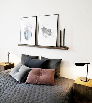 Z-Huset i Aarhus | Bent Hansen#NO.9puder #cushions #soveværelse #velour #puder #velvet