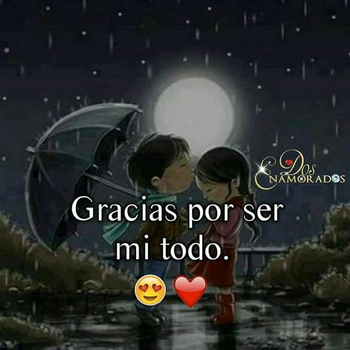 Gracias Amor Por Ser La Persona Que Amo Mucho Frases De