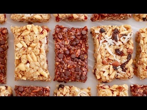 No-Bake Granola Bars (Back to School Recipe) Gemma's Bigger Bolder Baking Ep 139 - YouTube