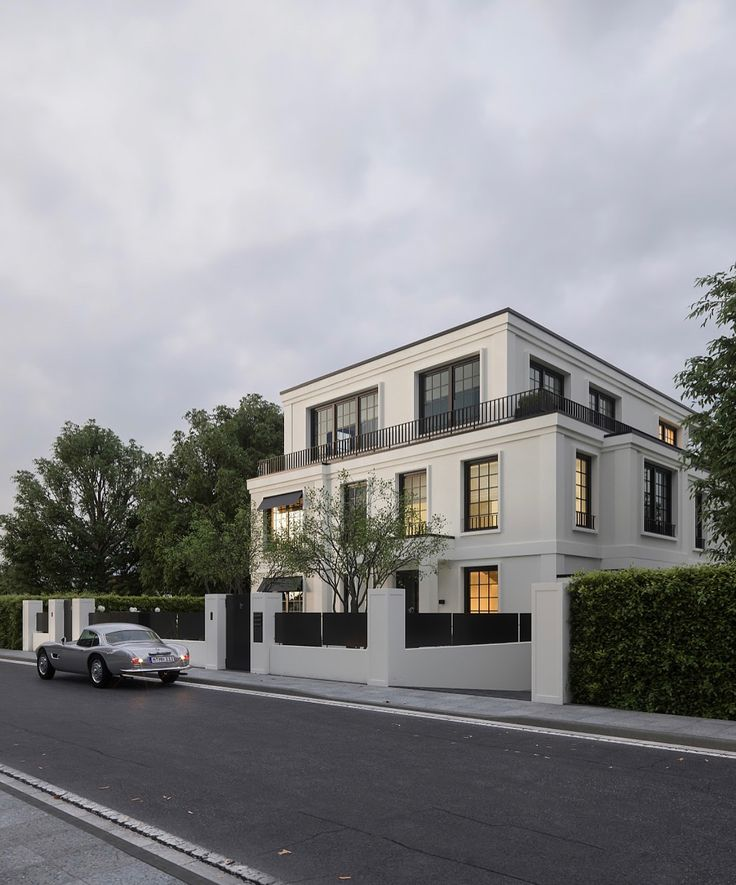 #Modern Villa in #Munich, 📐 Christian Basler De…