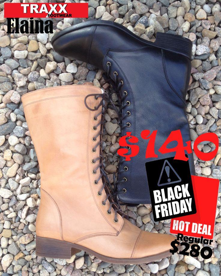 #TraxxFootwear #BlackFriday