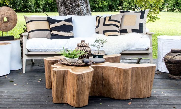 Reminiscent of exotic travels, the Log Coffee Table is beautifully organic, earthy and naturally modern. Fun and simple design that is both functional and artis
