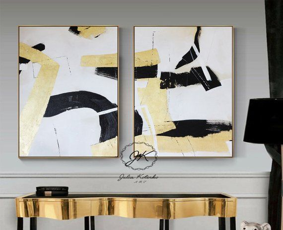 Printable Wall Art Set Of 2 Art Prints Two Large Abstract Prints Digital Download Printable Art Art Prints Modern Art Printables Abstract Wall Art